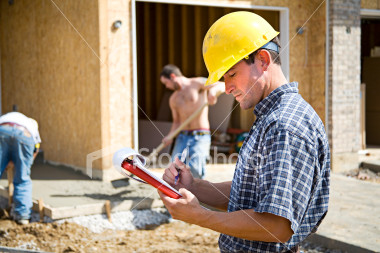 Construction Labor using Labor Time Tracker